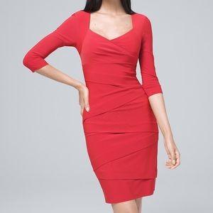 🔥WHBM instantly slimming sheath dress In jade🔥